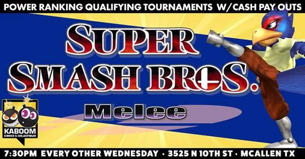 Super Smash Bros Melee Wednesdays