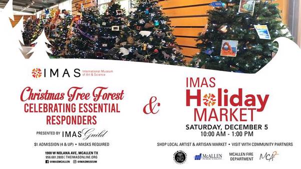 IMAS Holiday Market & Christmas Tree Forest
