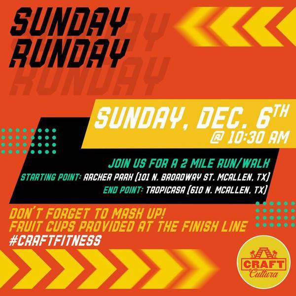 Sunday Runday!
