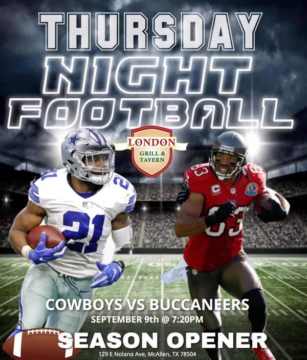 Buccaneers vs Cowboys Watch Party
