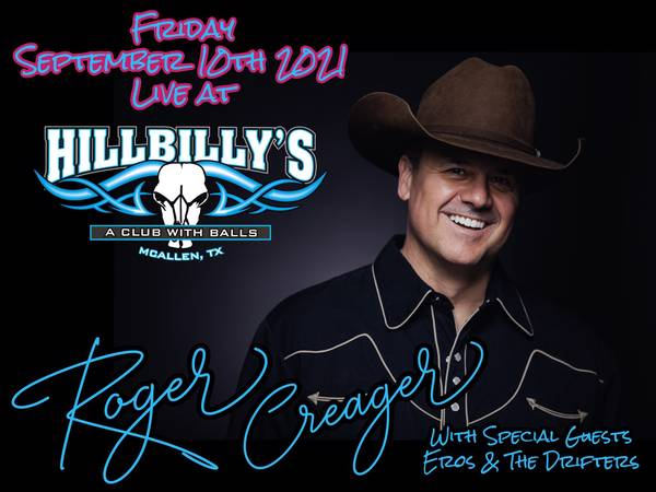 Roger Creager w/ Eros and The Drifters @ Hillbilly's