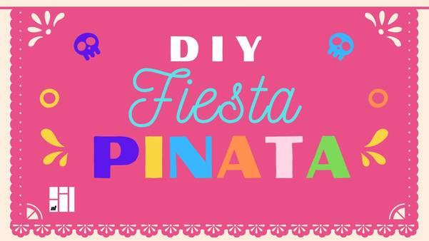 DIY Fiesta Pinata