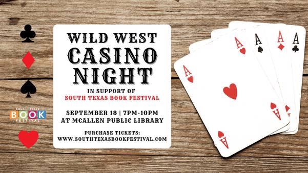 Wild West Casino Night