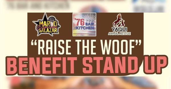 Raise the Woof! Benefit Stand Up