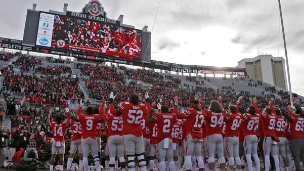 Ohio State vs Akron College Ball