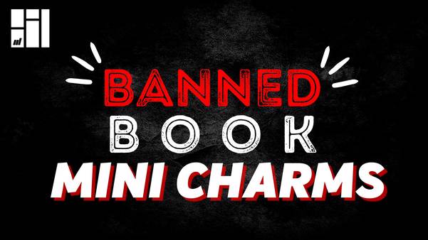 Banned Book Mini Charms