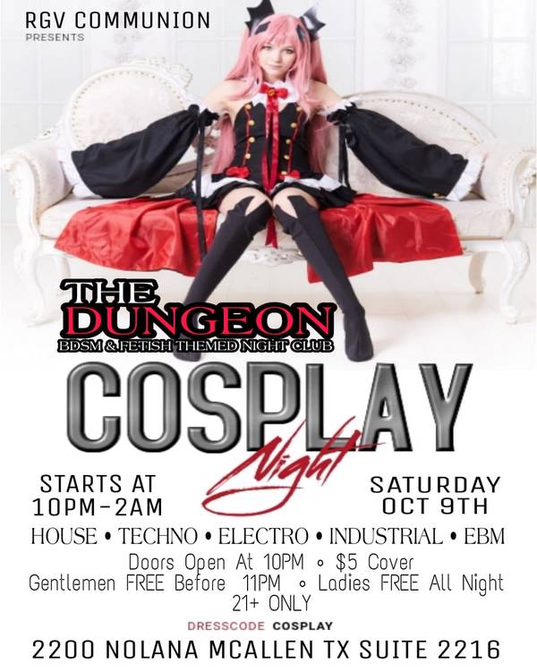 The DUNGEON  COSPLAY PARTY