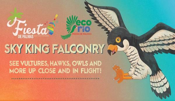 Fiesta de Palmas- Live Animals with Sky King Falconry