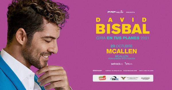 David Bisbal en el McAllen Performing Arts Center-23 de Octubre