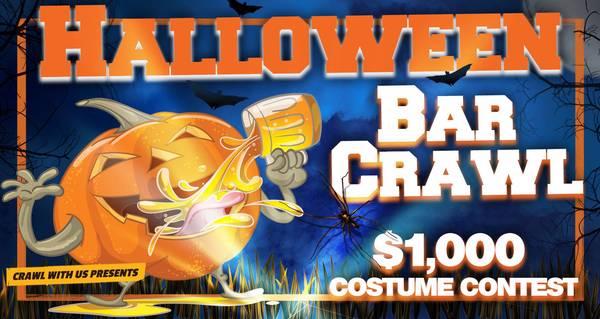 The 4th Annual Halloween Bar Crawl - McAllen