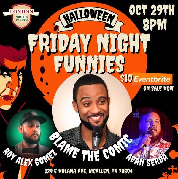 Halloween Friday Night Funnies