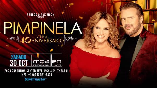 PIMPINELA - GIRA 40 ANIVERSARIO - McAllen, TX.