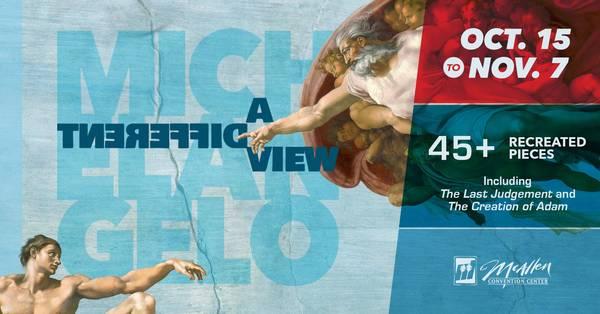 Michelangelo - A Different View - Art Exhibit