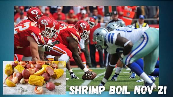 3rd Annual Shrimp Boil Cowboys v Chiefs